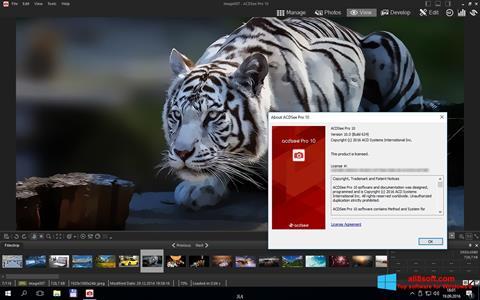 Captură de ecran ACDSee Pro pentru Windows 8
