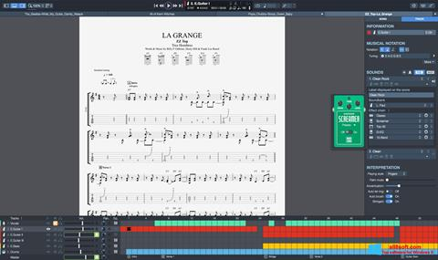Captură de ecran Guitar Pro pentru Windows 8