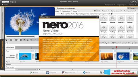 Captură de ecran Nero Video pentru Windows 8