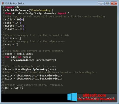 Captură de ecran Python pentru Windows 8