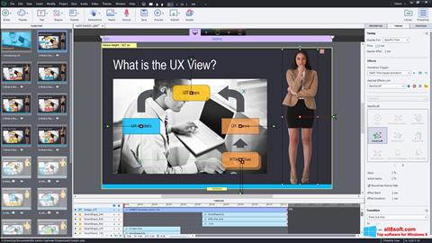 Captură de ecran Adobe Captivate pentru Windows 8