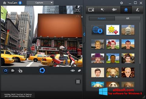 Captură de ecran CyberLink YouCam pentru Windows 8
