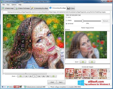 Captură de ecran Photo Collage Maker pentru Windows 8