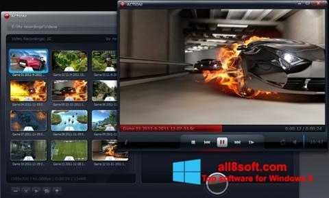 Captură de ecran Action! pentru Windows 8
