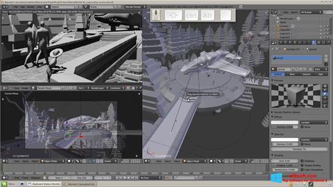 Captură de ecran Blender pentru Windows 8