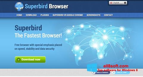 Captură de ecran Superbird pentru Windows 8