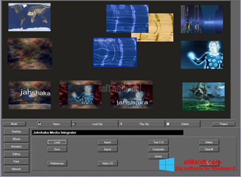 Captură de ecran JahShaka pentru Windows 8