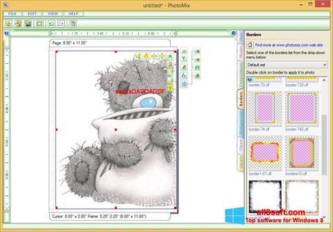 Captură de ecran PhotoMix Collage pentru Windows 8