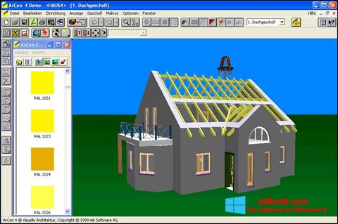 Captură de ecran Arcon pentru Windows 8