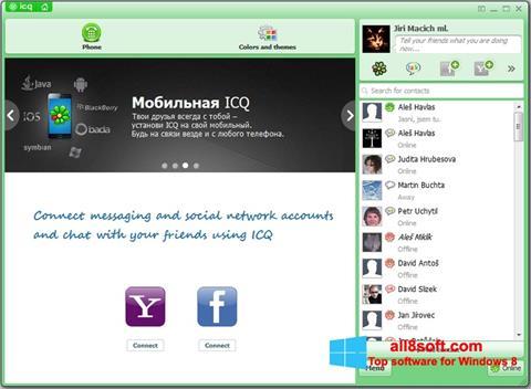 Captură de ecran ICQ pentru Windows 8