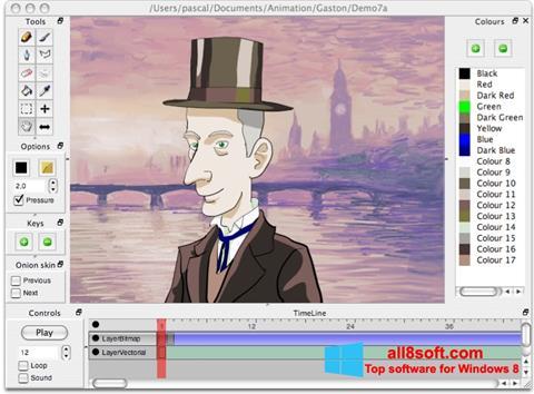 Captură de ecran Pencil pentru Windows 8