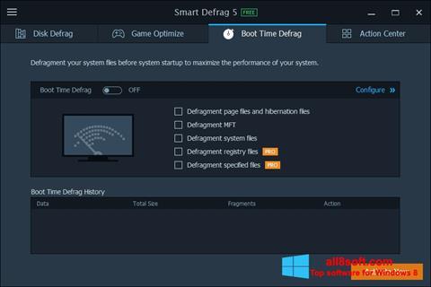 Captură de ecran Smart Defrag pentru Windows 8