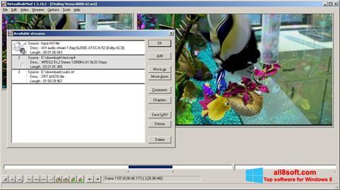 Captură de ecran VirtualDubMod pentru Windows 8