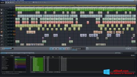 Captură de ecran MAGIX Music Maker pentru Windows 8