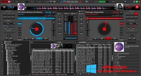 Captură de ecran Virtual DJ pentru Windows 8