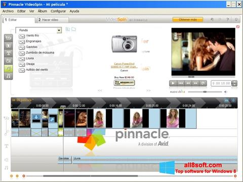 Captură de ecran Pinnacle VideoSpin pentru Windows 8