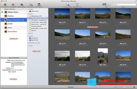 Captură de ecran iPhoto pentru Windows 8