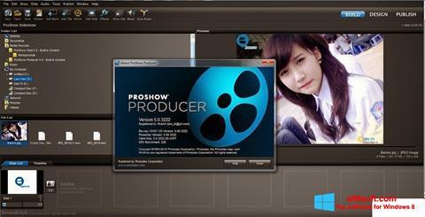 Captură de ecran ProShow Producer pentru Windows 8