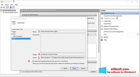 Captură de ecran Punto Switcher pentru Windows 8