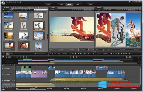 Captură de ecran Pinnacle Studio pentru Windows 8