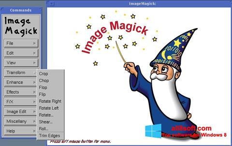 Captură de ecran ImageMagick pentru Windows 8