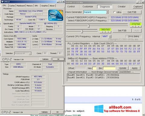 Captură de ecran SetFSB pentru Windows 8