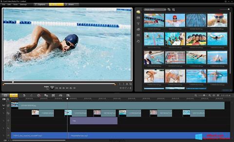 Captură de ecran Corel VideoStudio pentru Windows 8