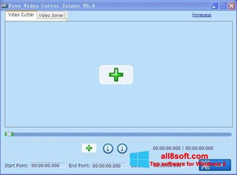 Captură de ecran Free Video Cutter pentru Windows 8