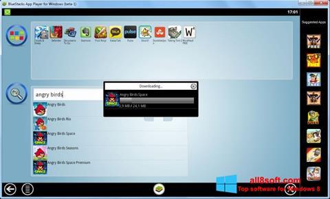 Captură de ecran BlueStacks pentru Windows 8