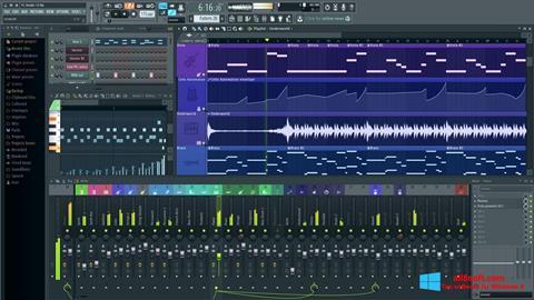 Captură de ecran FL Studio pentru Windows 8