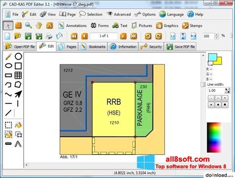 Captură de ecran PDF Reader pentru Windows 8